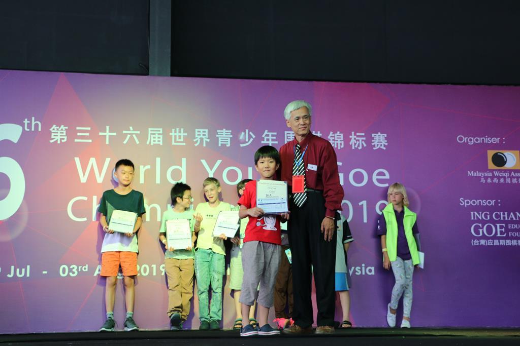 U12 5th Place - Chen YuQi (Singapore)