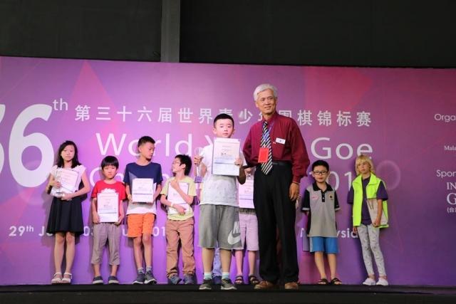 U12 2nd Runner up - ZHANG XINYU (China)