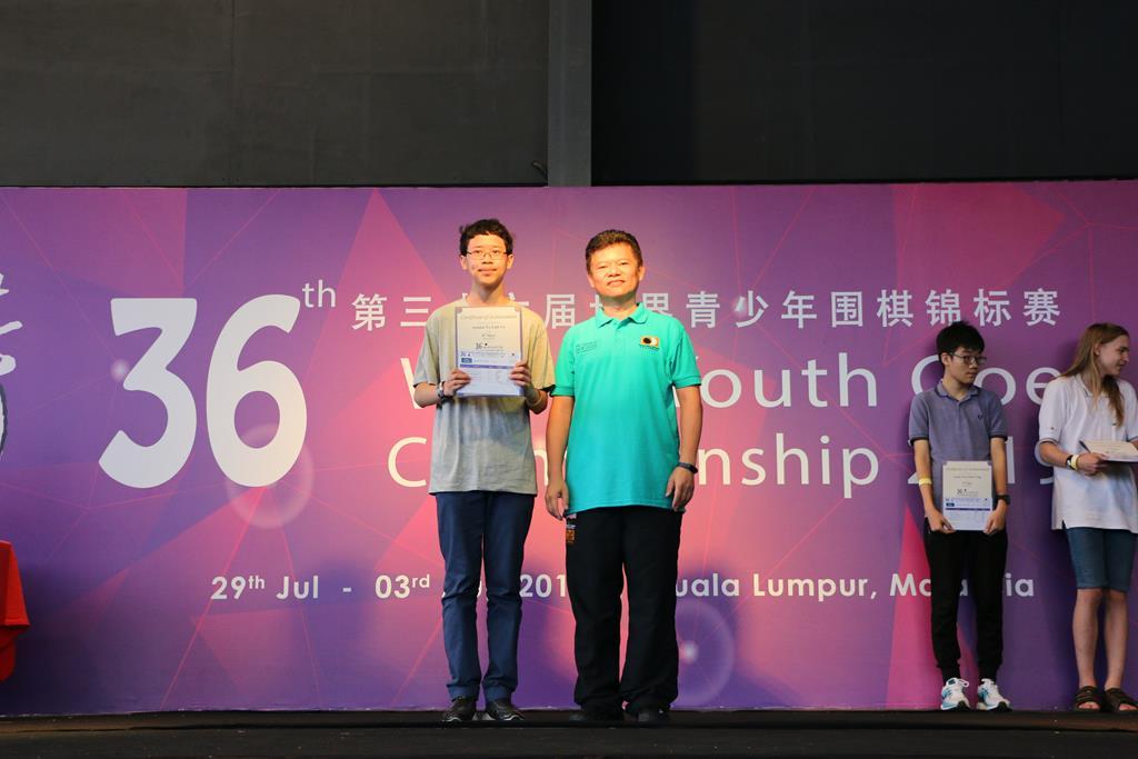 U16 8th Place - Linh Vu Tu (France)
