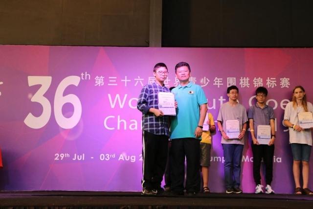 U16 - 5th Place - SORNARRA Pongsakarn (Thailand)