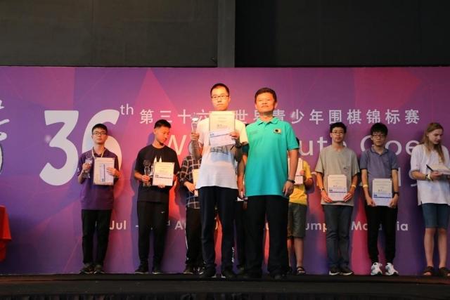 U16 - 1st Runner up - LI HaoTong (China)